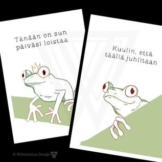 Lammikon laidalta -postikortit