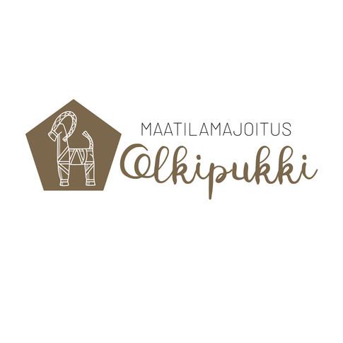 Logo Maatilamajoitus Olkipukki
