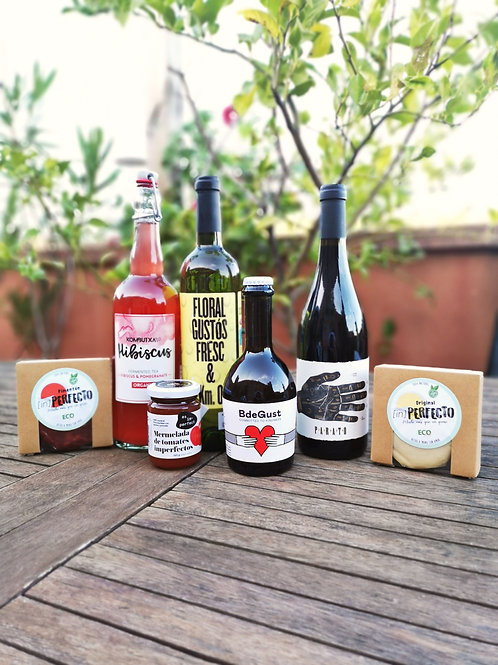 Pack 2 (Keso Original + 1 Mermelada de Tomate + 1 Keso y 1 Bebida a elegir)