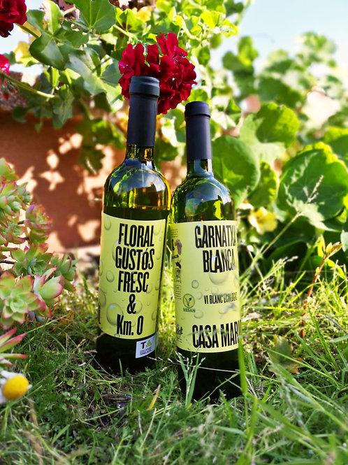 Vino Blanco Garnacha Blanca 2019 Eco y Vegan