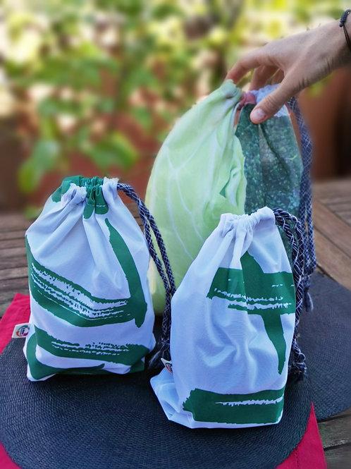 """Pack 3 Bolsas """"d-fènix"""" + 1 Keso Original + 1 Keso a Elegir"""