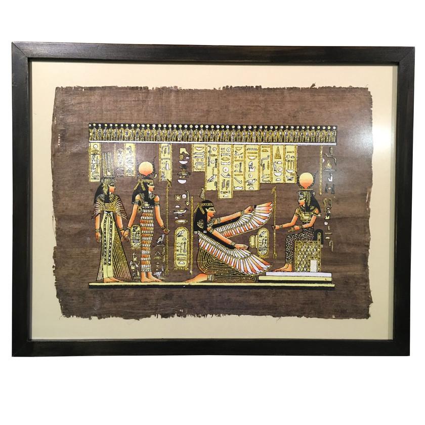 papirüse siyah çerçeve