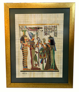 papirüs çerçevesi