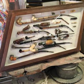 Pipo koleksiyonuna çerçeve