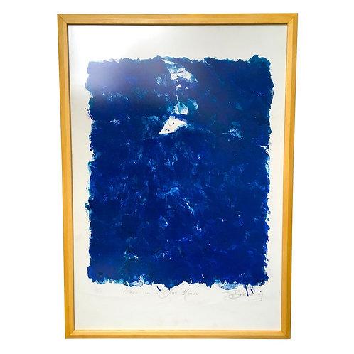 John Breakey imzalı litografi