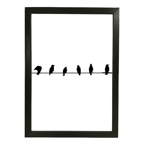 Teldeki kuşlar