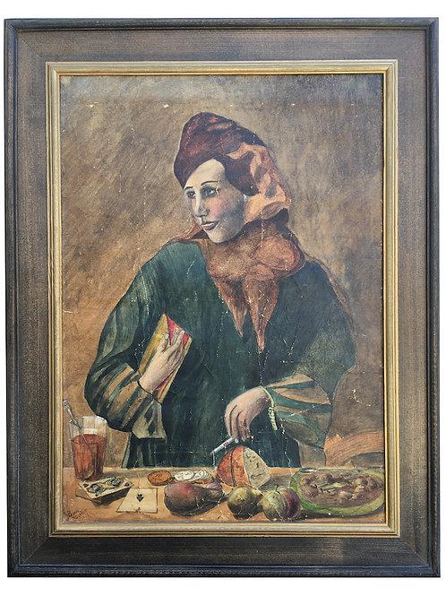 Boris Magahne 1934 imzalı