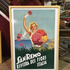 Poster ve afiş çerçeve örnekleri