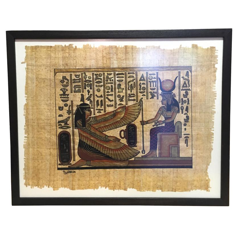 fon üzeri papirüs
