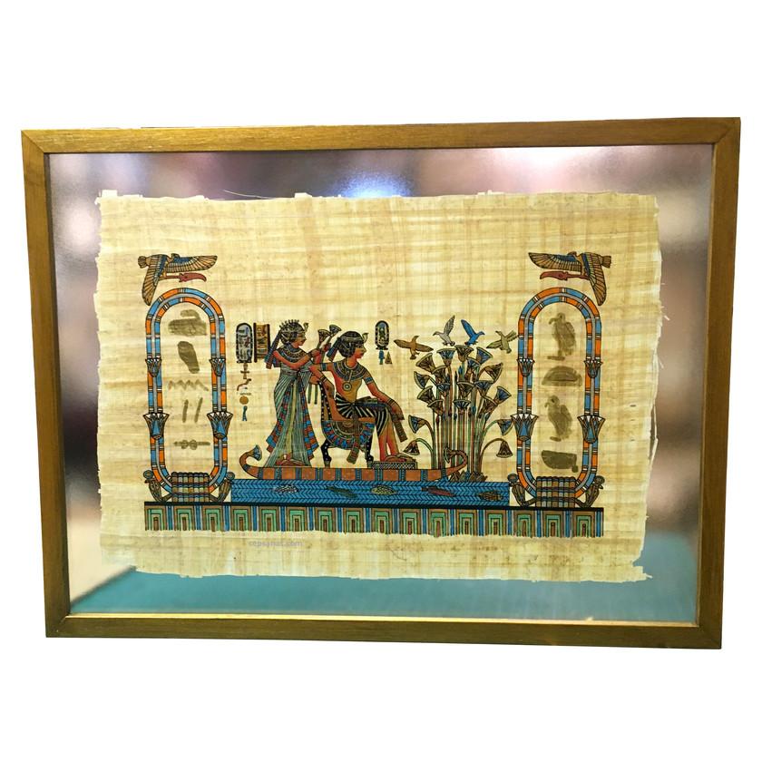 iki cam arası papirüs