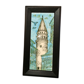 Galata kulesi çini