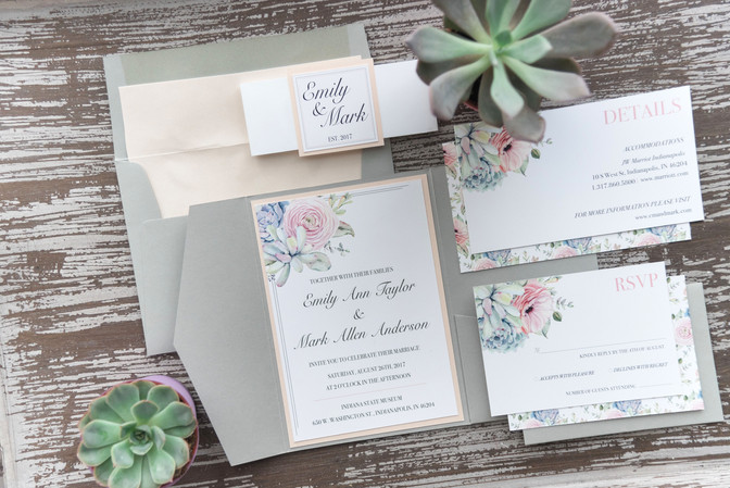 LMDP Wedding Invitation Styles