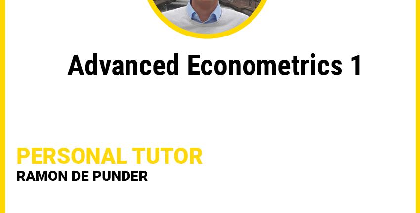 Advanced Econometrics 1 - Offline