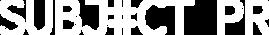 Subject PR Logo