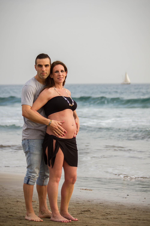 Sesión de embarazo en Gran Canaria. La Luna de Neptuno