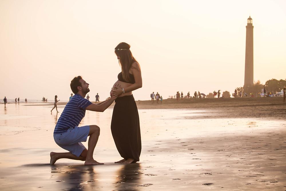 Sesion de embarazo gran canaria