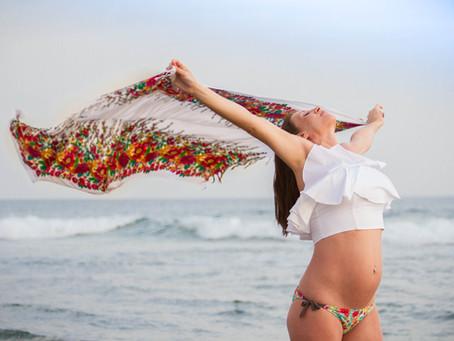 Fotografia de embarazo en Gran Canaria. Sesiones lindas.