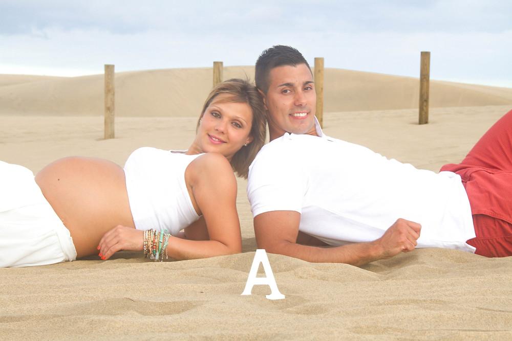 Sesiones de embarazo Las Palmas de Gran Canaria. La Luna de Neptuno