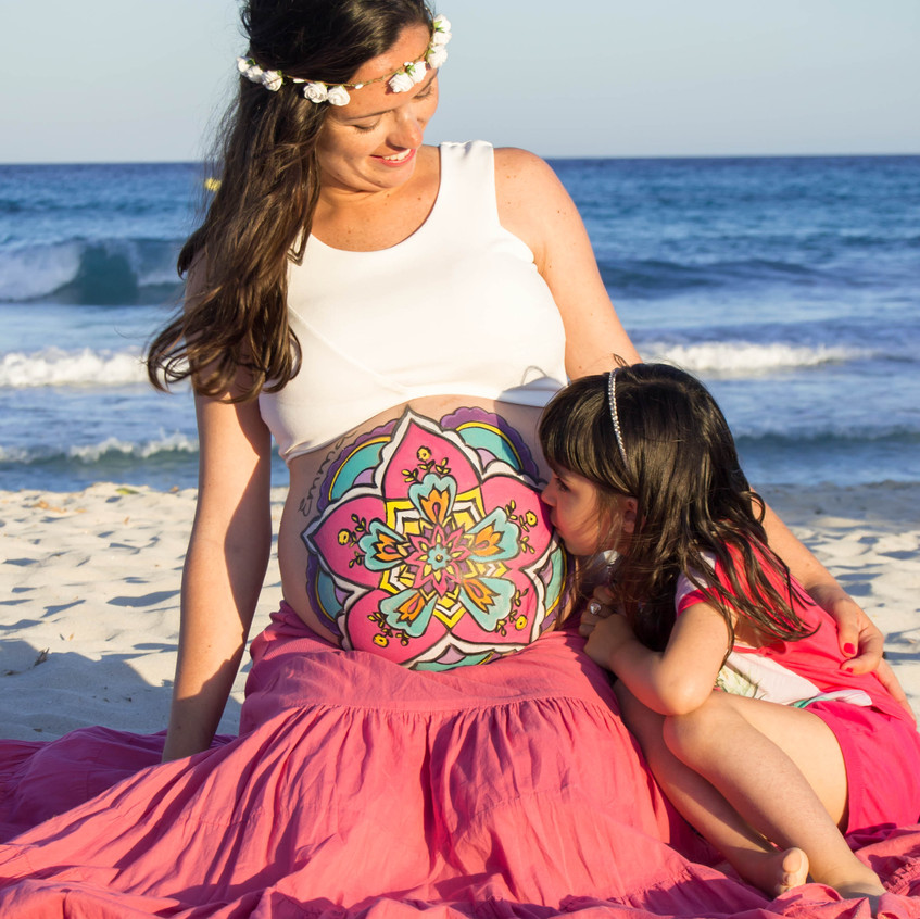 Belly Painting Emma-112-72
