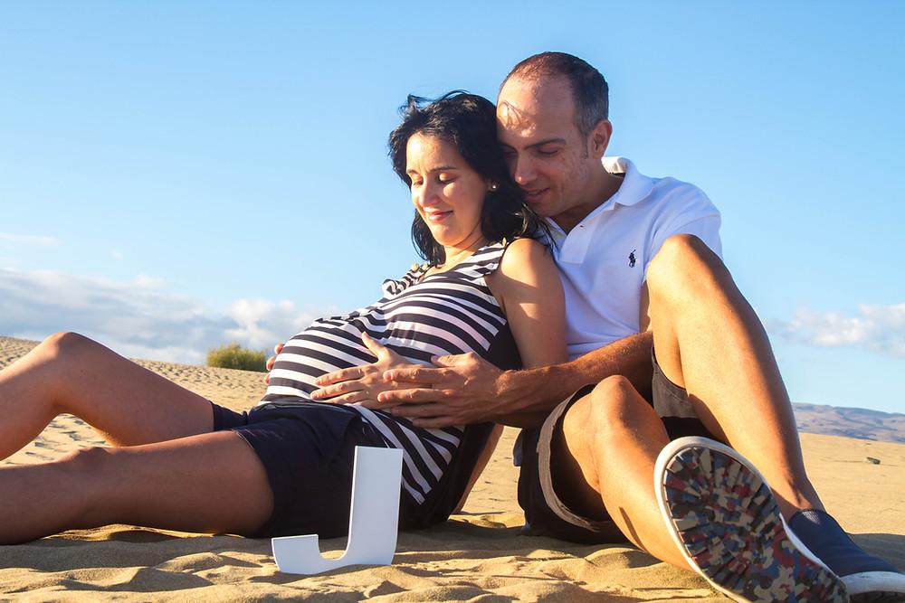 Sesiones de embarazo las Palmas de Gran Canaria La Luna de Neptuno