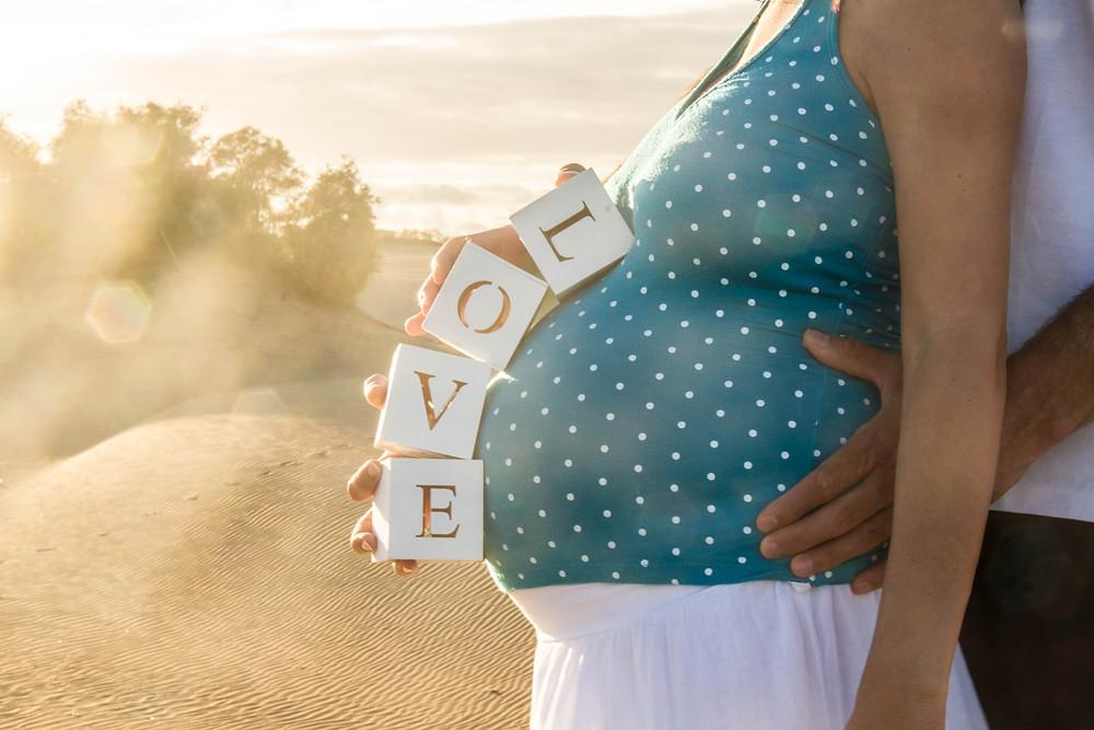 Sesiones de embarazo, Las Palmas de Gran Canaria La Luna de Neptuno