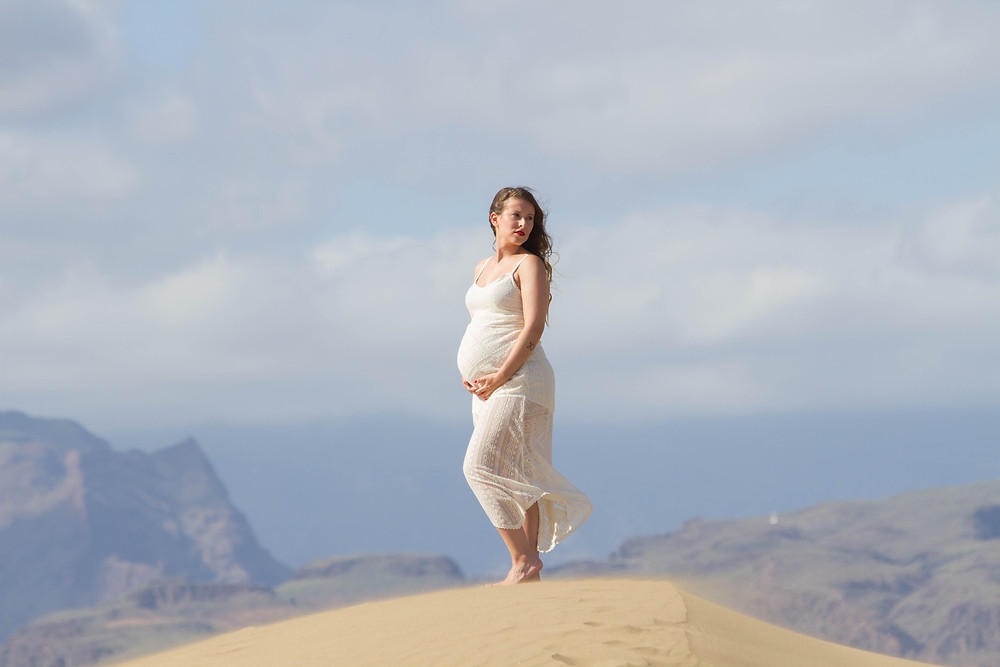 Sesión de fotos embarazo Gran Canaria