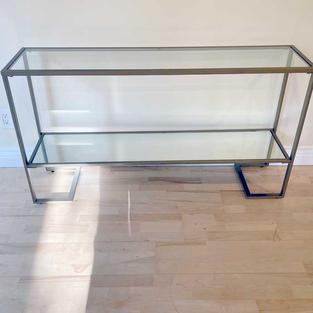 Glass & Mirror Console