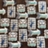 I'm in love with these baby shower cooki