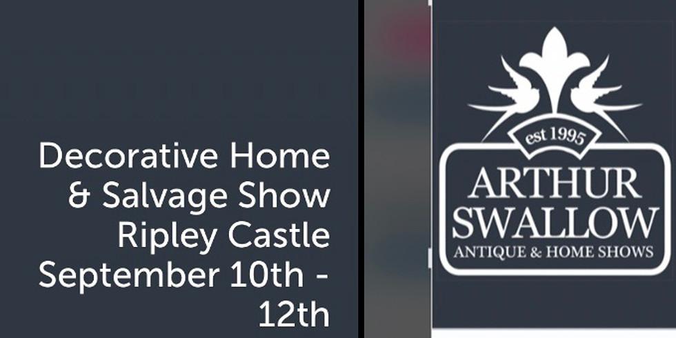 Arthur Swallow decorative home & salvage show