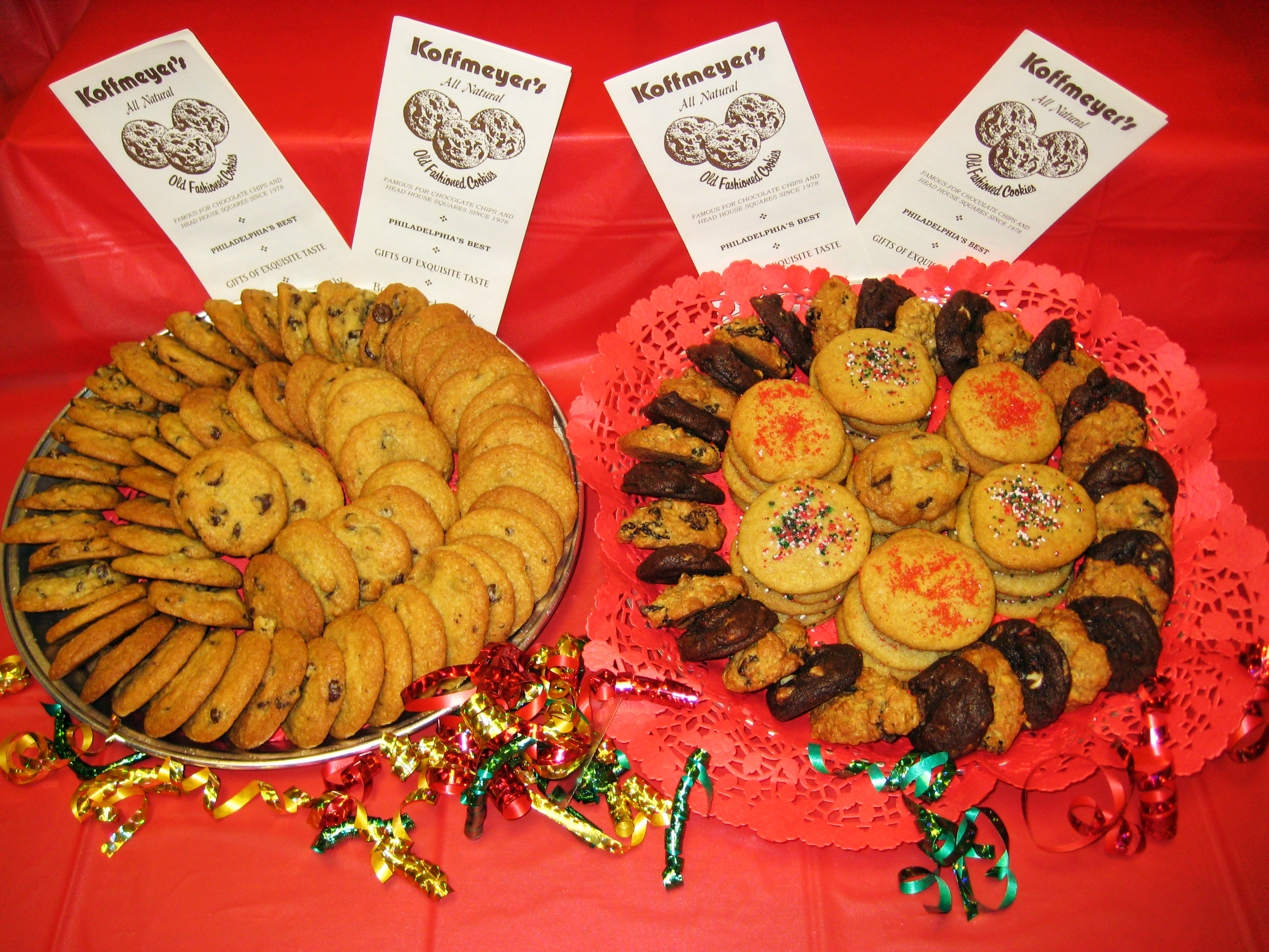 Custom Cookie Platters