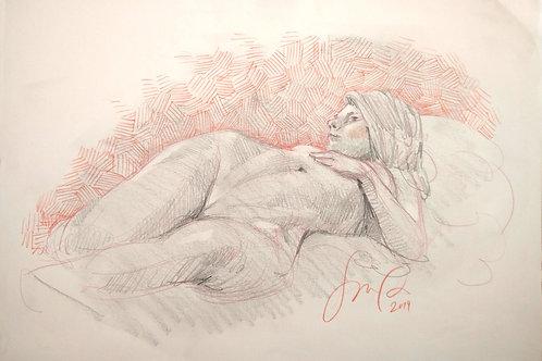 Figure Drawing, Lena 3