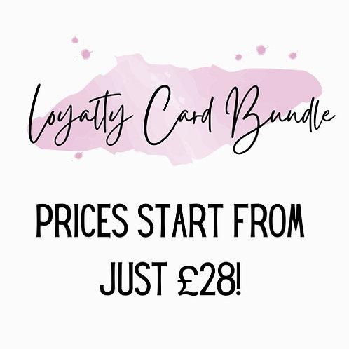 BUNDLE - Loyalty Cards & Stickers