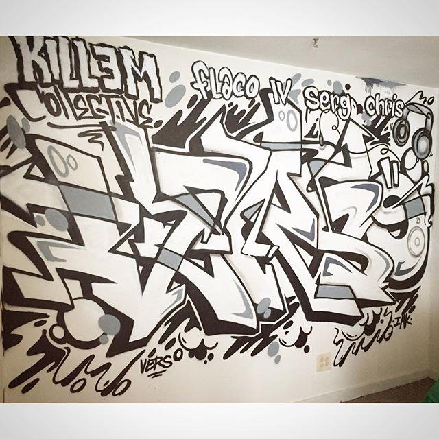 Verso, graffiti