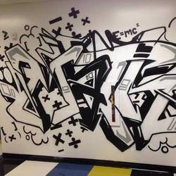 Math: graffiti