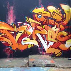 Verso: Graffiti