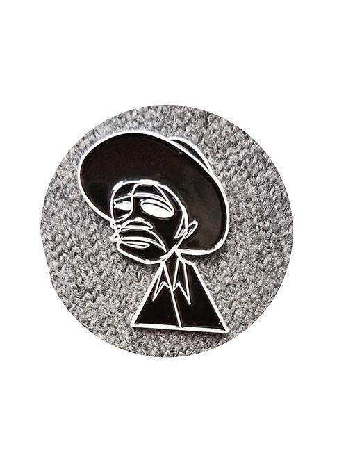 Coffee Picker Lapel Pin