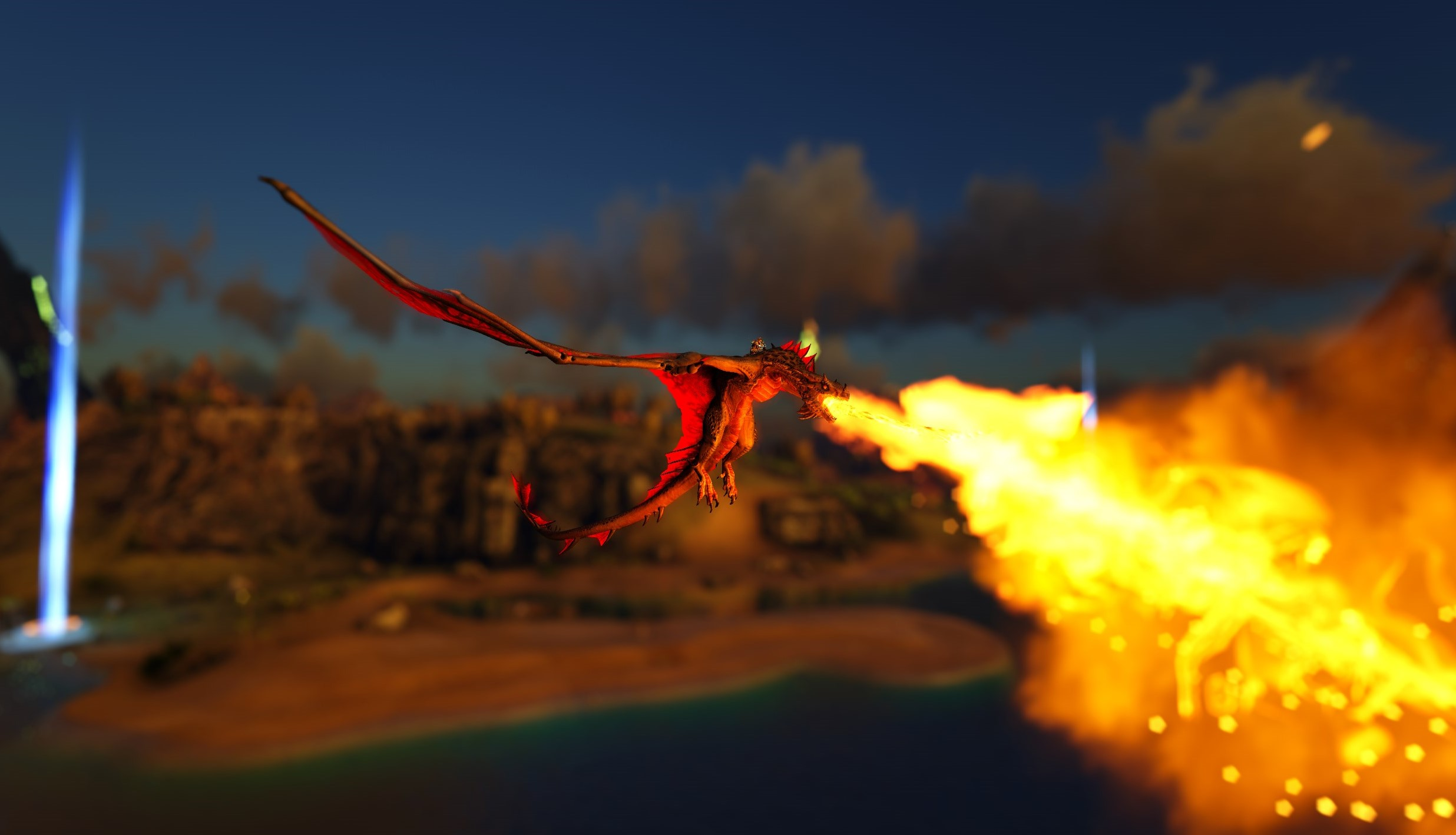 Seth's Fire Wyv