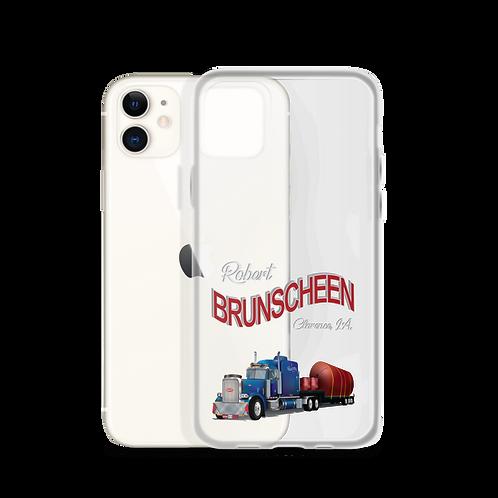 Robert Brunscheen Trucking iPhone Case