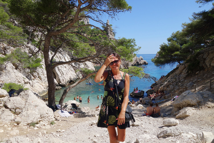 Mon week end aux calanques