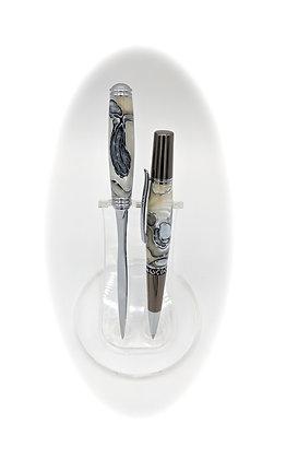 Zeta Ballpoint Pen and Letter Opener Combo