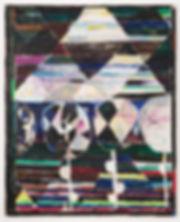 Night Flowers 2017 210cm x 170cm mixed m