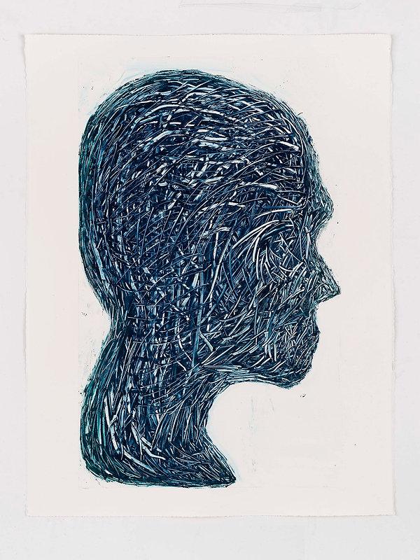 Henry Hussey - Untitled (Self-Portrait).