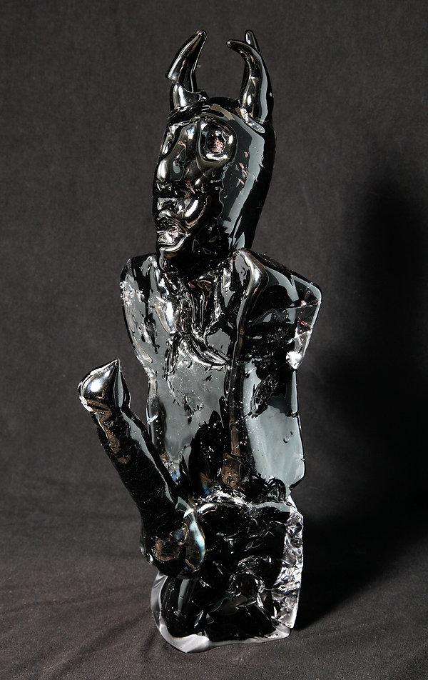 Henry Hussey - Untitled (Black Sculpture
