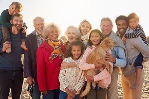 portrait-of-multi-generation-family-grou