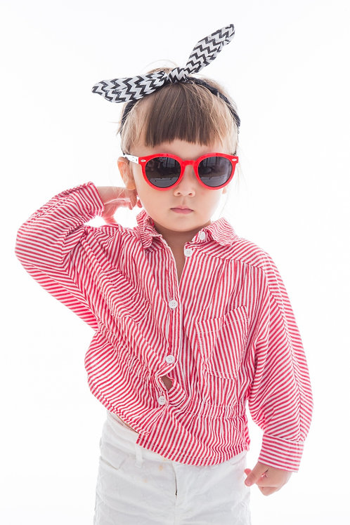 Round Bendable Kids Sunglasses Polarised&UV protection