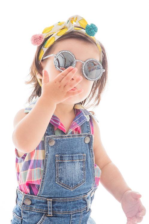 Retro Style Fashion Kids Sunglasses Polarised&UV protection