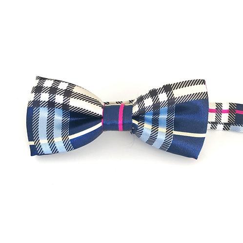 Striped mini bow ties
