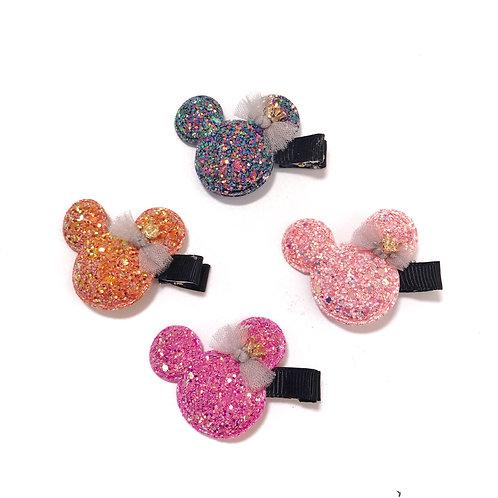 Glitter Micky Clip