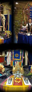 Portable Moving Stargate Temple Altar 20