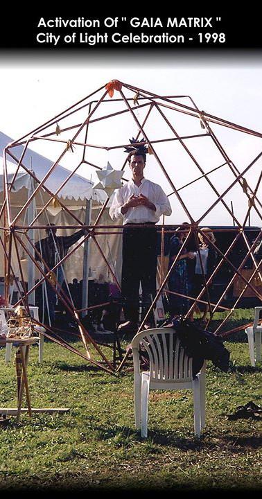 Large Scale Installtions GAIA-Matrix City of Light Festival 1998